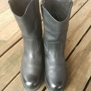 Wolverine Shoes - Wolverine W04728 Black Pebbled Work Boots 11.5 M